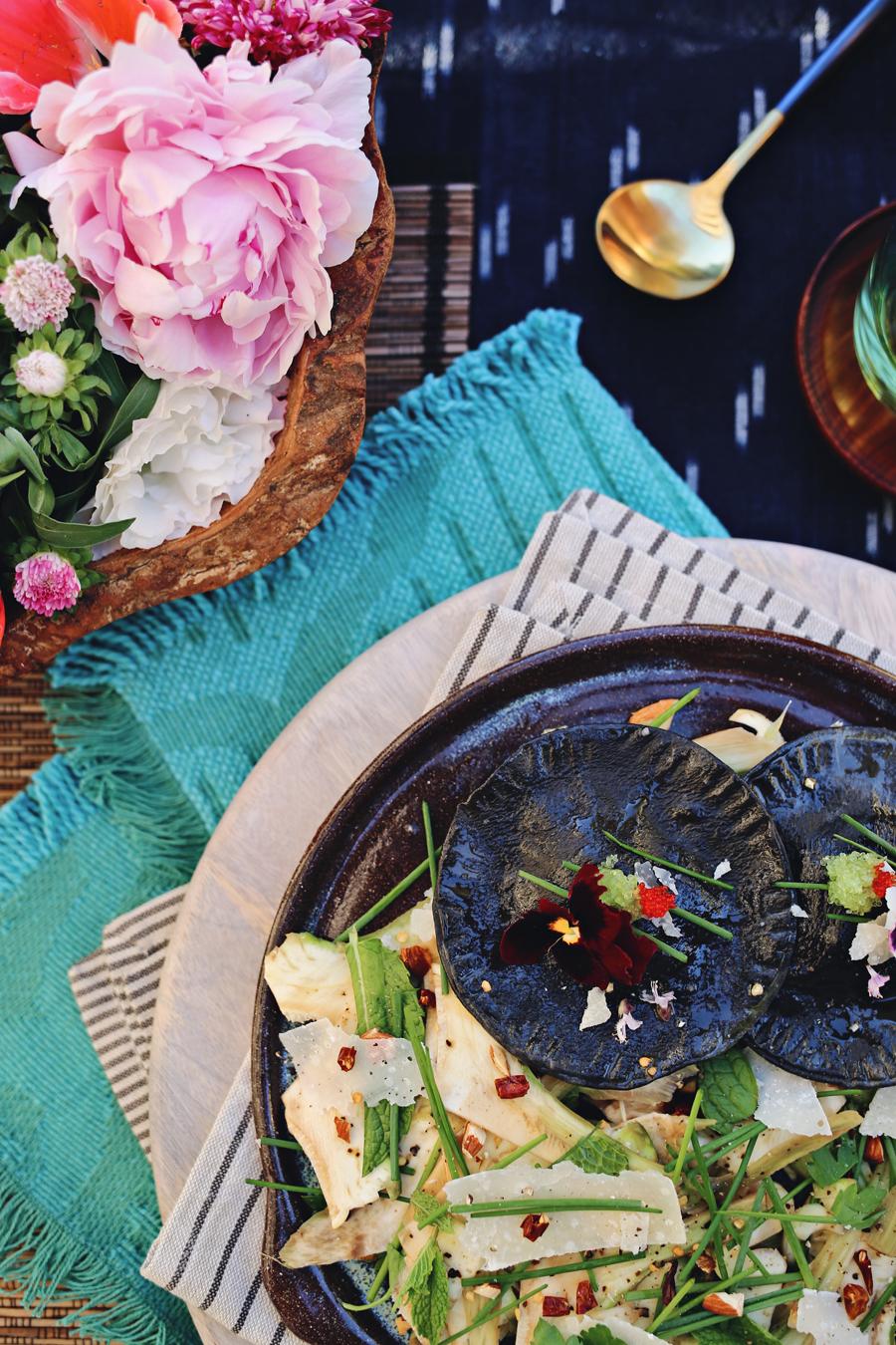 Shaved Artichoke Salad | Dine X Design