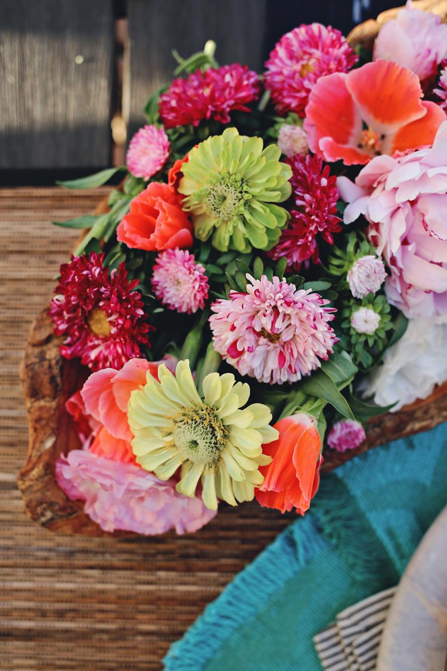 Summer Party Florals | Dine X Design