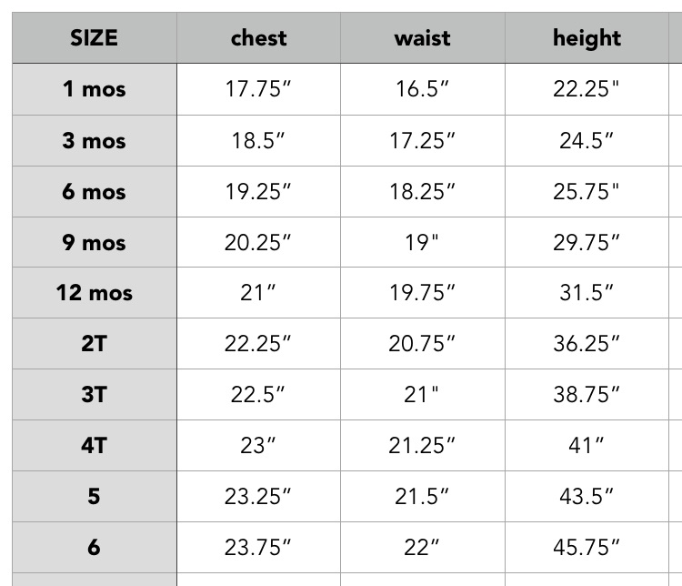 Be sure to measure your little one. - If a change needs to be made to the size you ordered please email me with your change within 48 hours of your order. After 48 hours I cannot guarantee changes. Dresses run true to size.