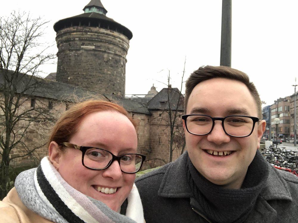 Natalie & Christopher in Germany