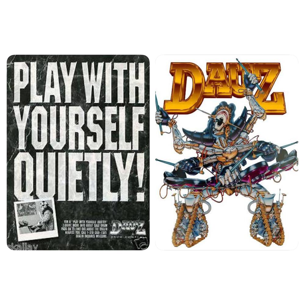 PLAY QUIETLY & DRUM GUY