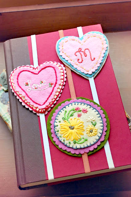 Valentine Craft - Bookmarks