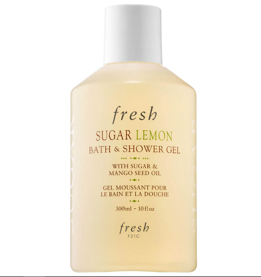 FRESH Sugar Lemon Bath & Shower Gel - Make bathtime a ritual with a sweet lemon scented luxurious bath gel.