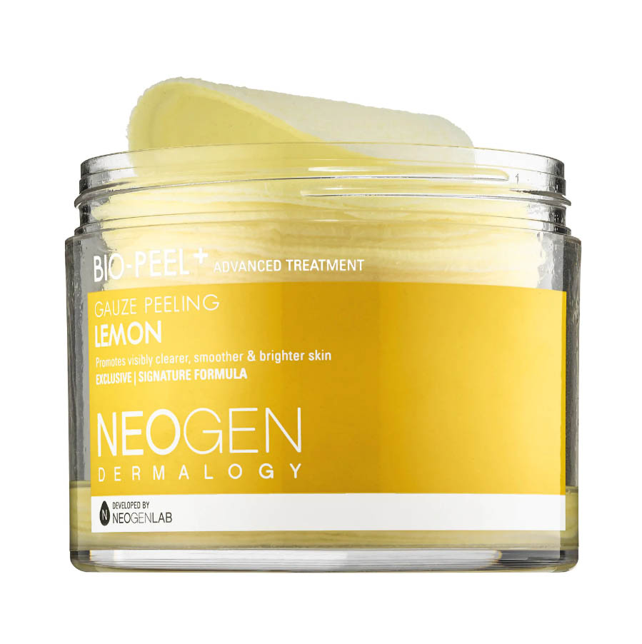 NEOGEN DERMALOGYBio-Peel Gauze Peeling - Lemon - 30 single-use pads are for exfoliating your skin after you wash in heavenly scented lemon.