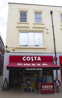 Costa Coffee in Silver Street