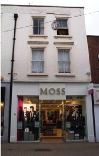 Moss Bros in Silver Street