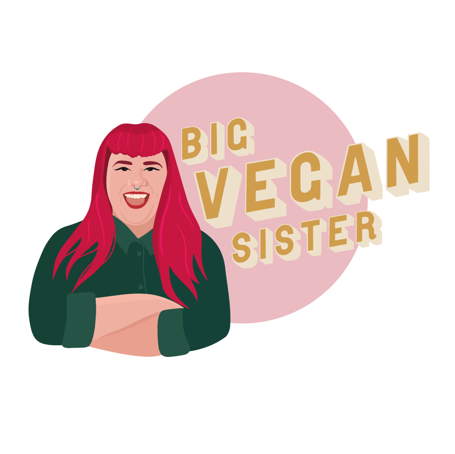 big vegan sister