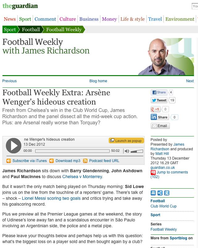 Football Weekly Grab