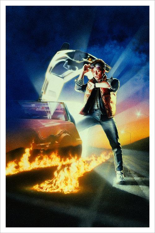 132785160 Hero Complex Gallery presents Drew Struzan's 'Back to the Future' Available  as Screen Prints
