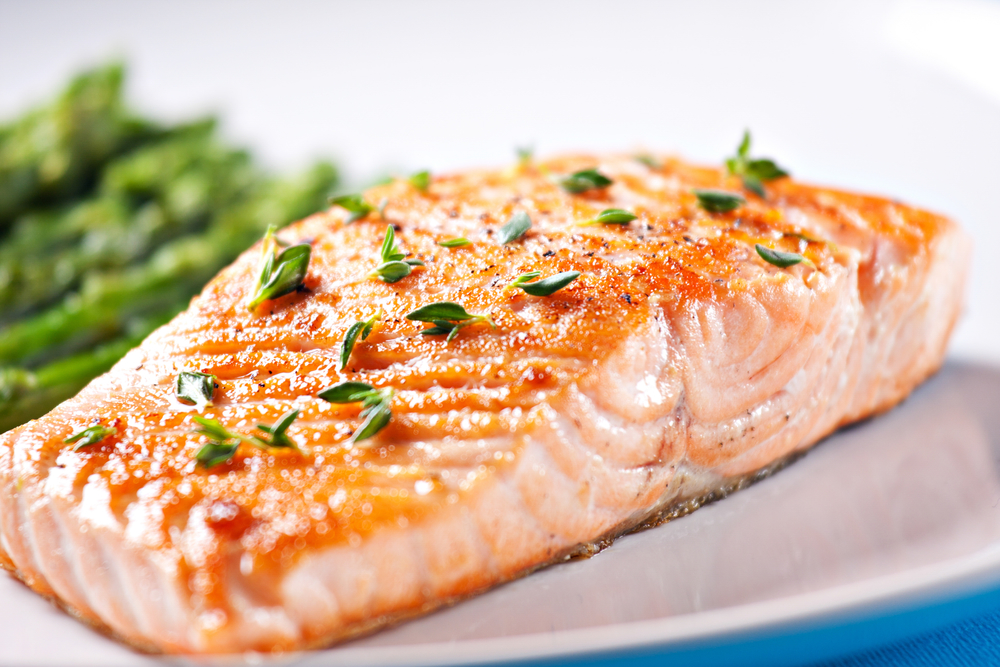 Frozen Salmon That's Low in Mercury