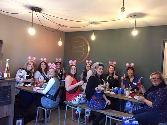 Parties & Groups - Children • Hen Do's • & More! Available for DIY take-away, for us to attend at your own venue or to hold in our Hereford shop.