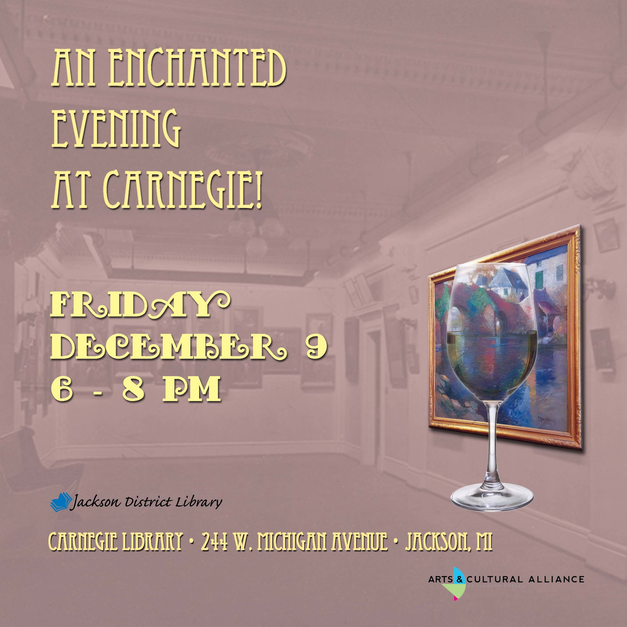 An Enchanted Evening at Carnegie