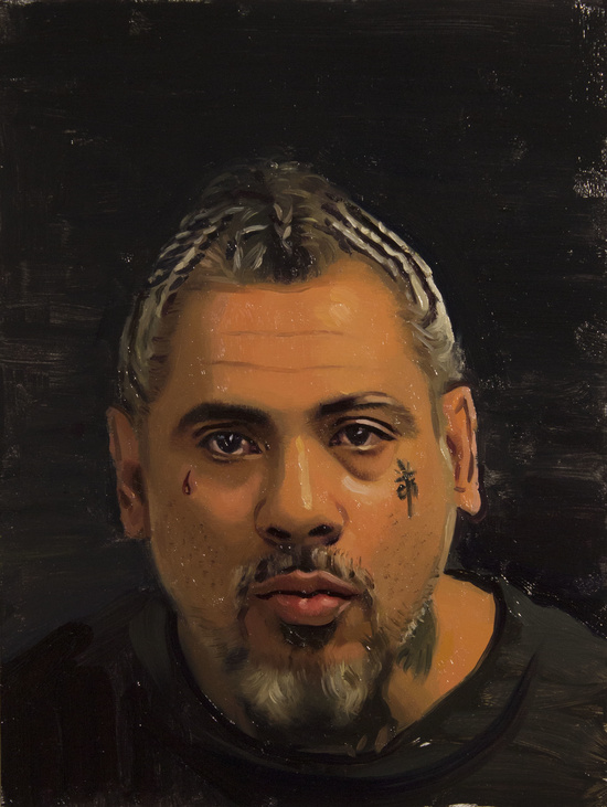 Portrait of my father II    |  Oil on Board | 12 x 9 inches