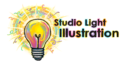 Studio Light Illustration