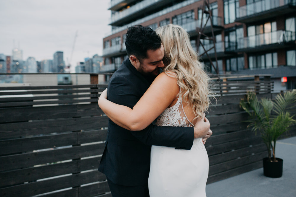 Melanie & Brandon - A moody, boho celebration at The Burroughes downtown Toronto was the perfect way to celebrate this enchanting couple. Focused on dancing, fun with friends and partying as late as possible, this duo was full of creative ideas and bohemian charm.Captured by Luna Weddings PhotographyView the Gallery