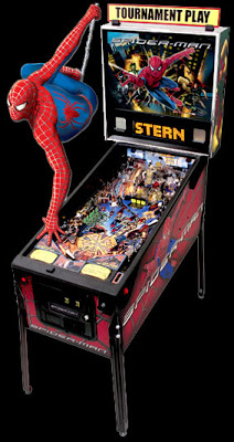 Spiderman 3 Pinball by Stern