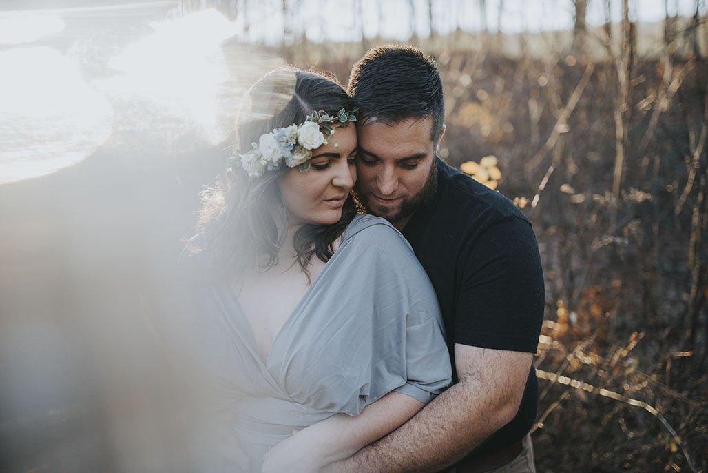Vermont wedding photographer / Lauren and Tyler's engagement session