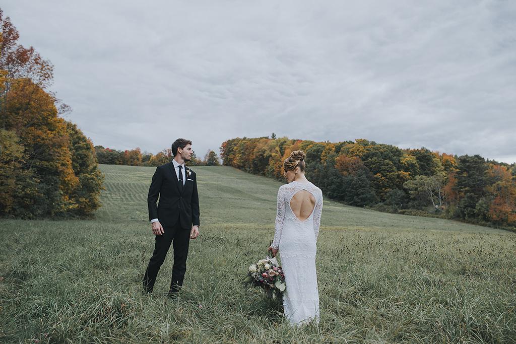 Boston couple fall weddings