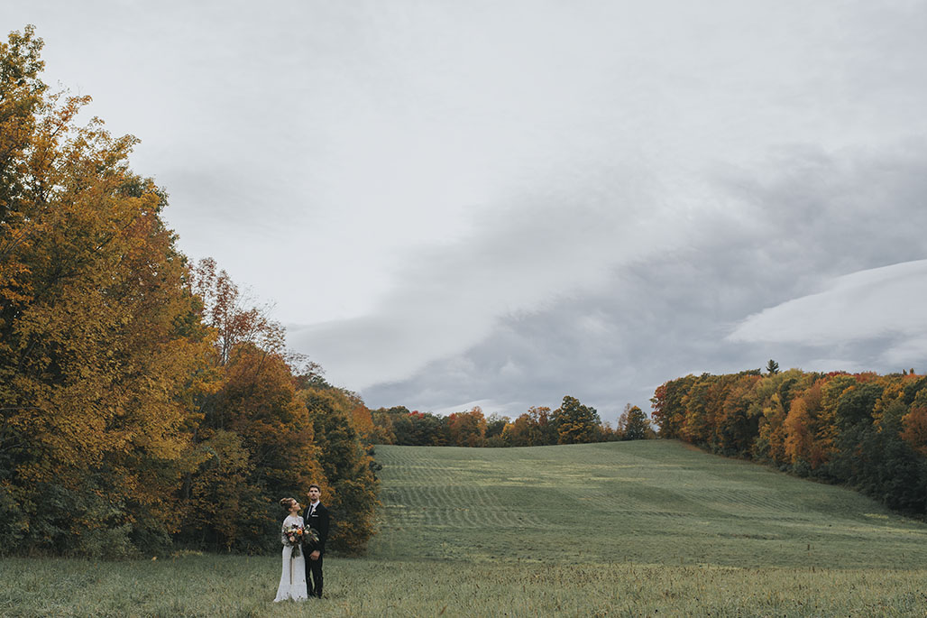 New England fall weddings