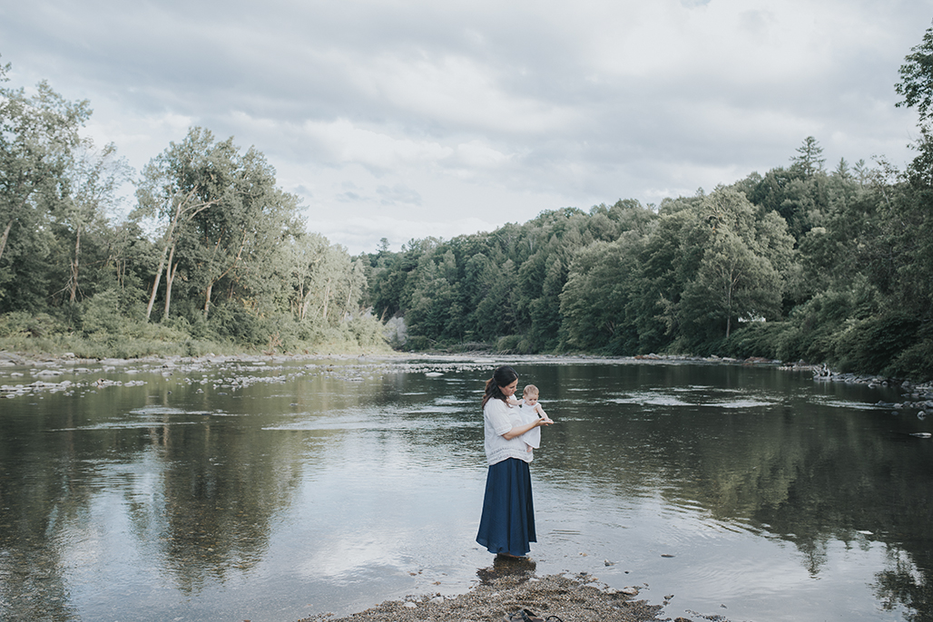 vermont-child-photographer / River sessions