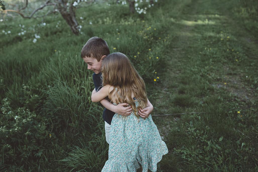 Vermont child photographer