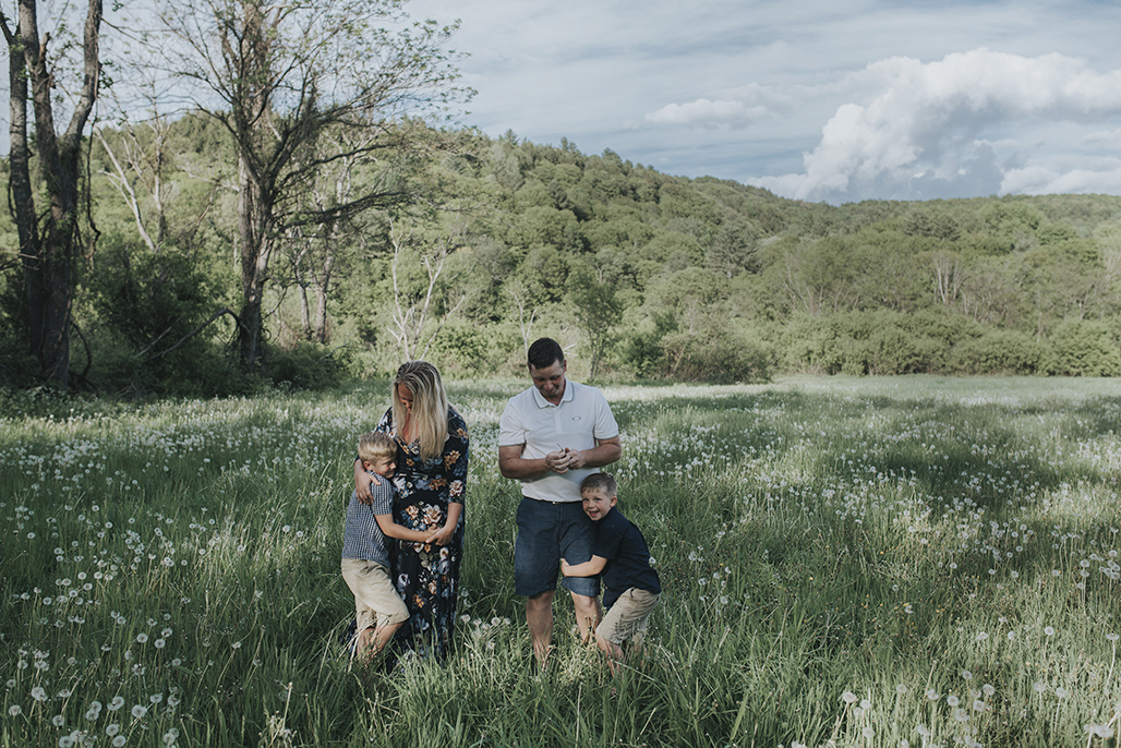 Vermont family photography