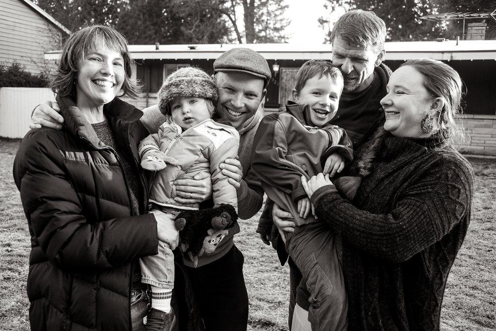 Their 'Weird Little Family Unit'