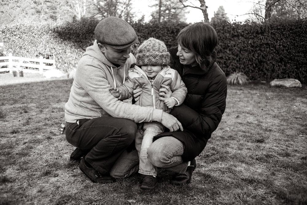 Levi, Rowan and Meghan