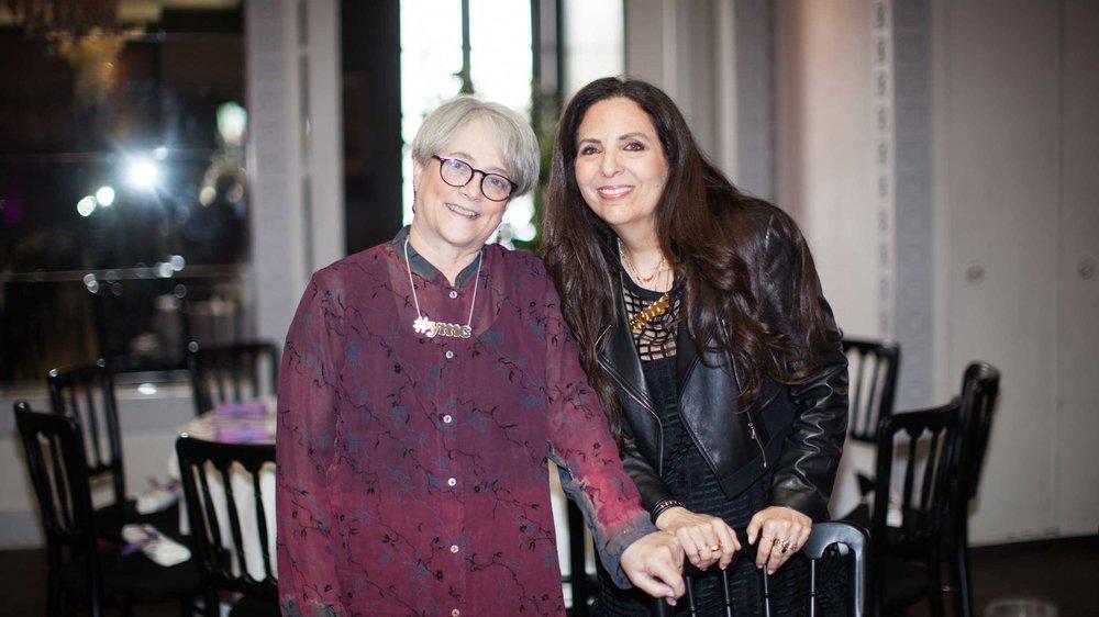 Sharon Feldstein, co-founder Mom of Jonah Hill, Beanie Feldstein, Patsy Noah, co-founder Mom of Adam Levine