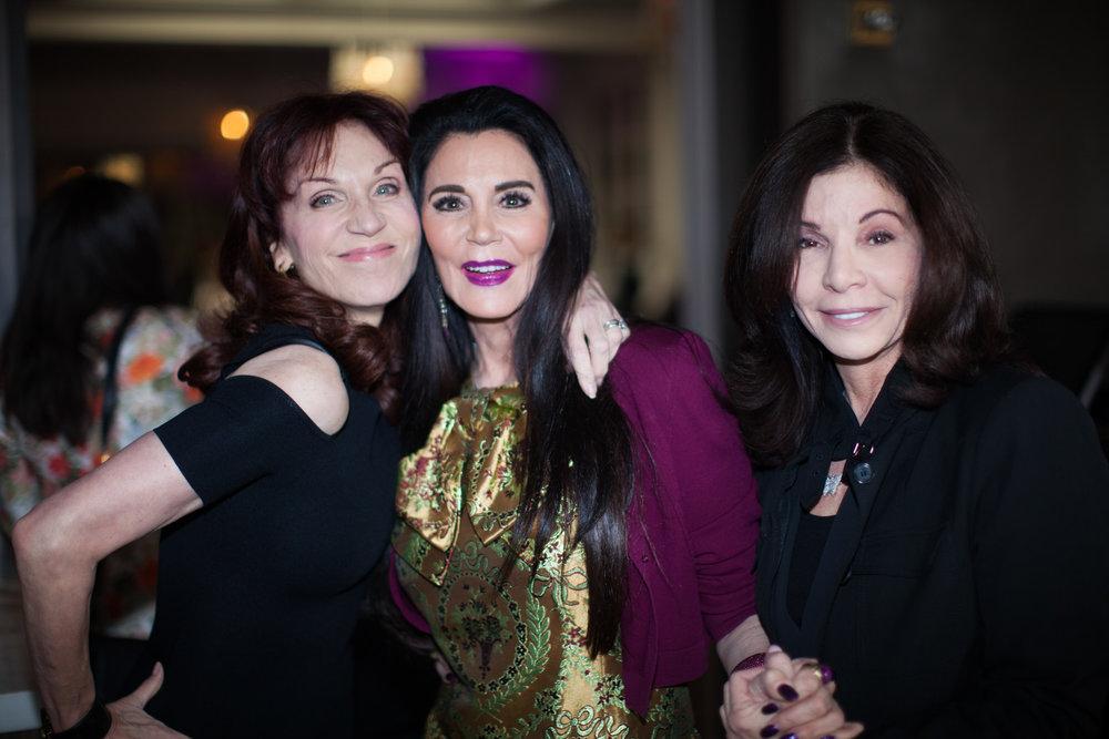 Marilu Henner, Barbara Lazaroff, and Jill Black