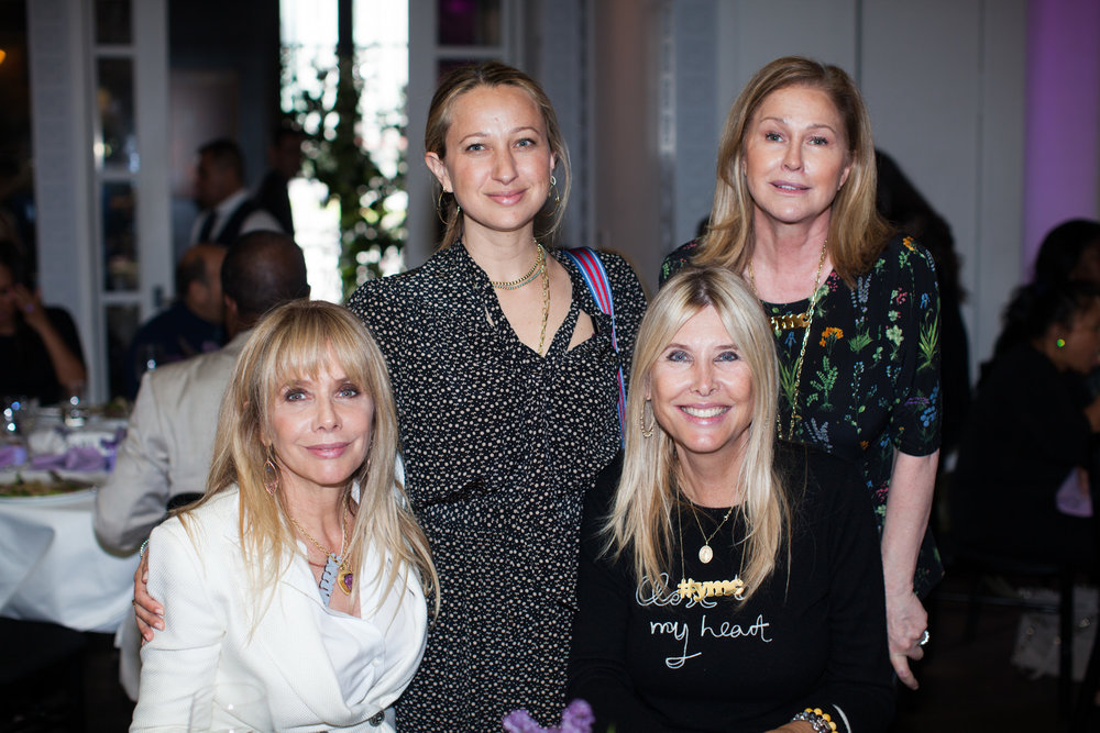 Rosanna Arquette, Jennifer Meyer, and Irena Medavoy