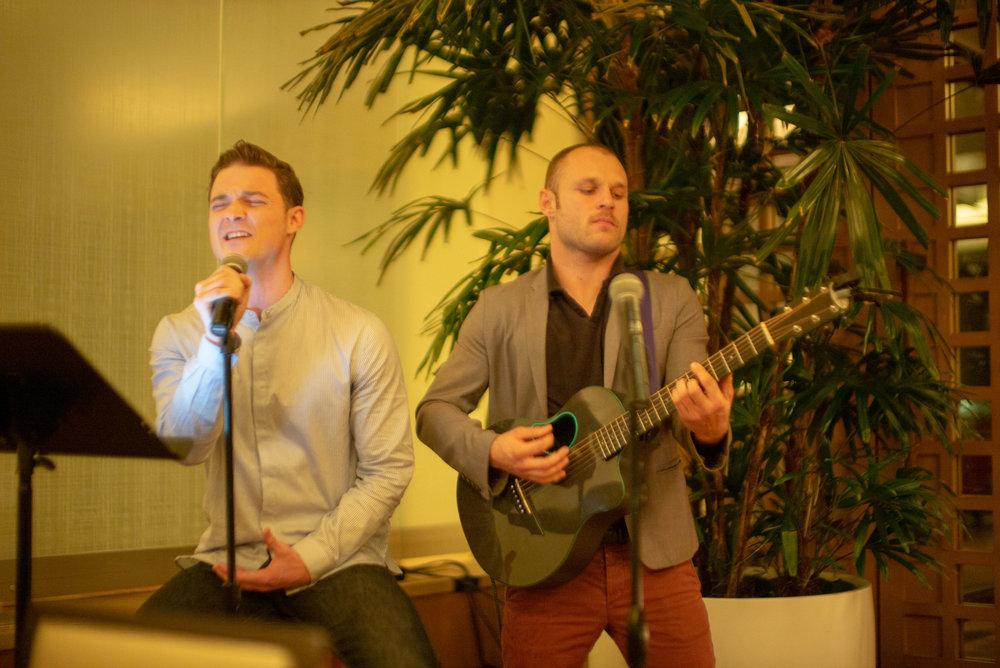 James Byous and Sean Patrick Murray