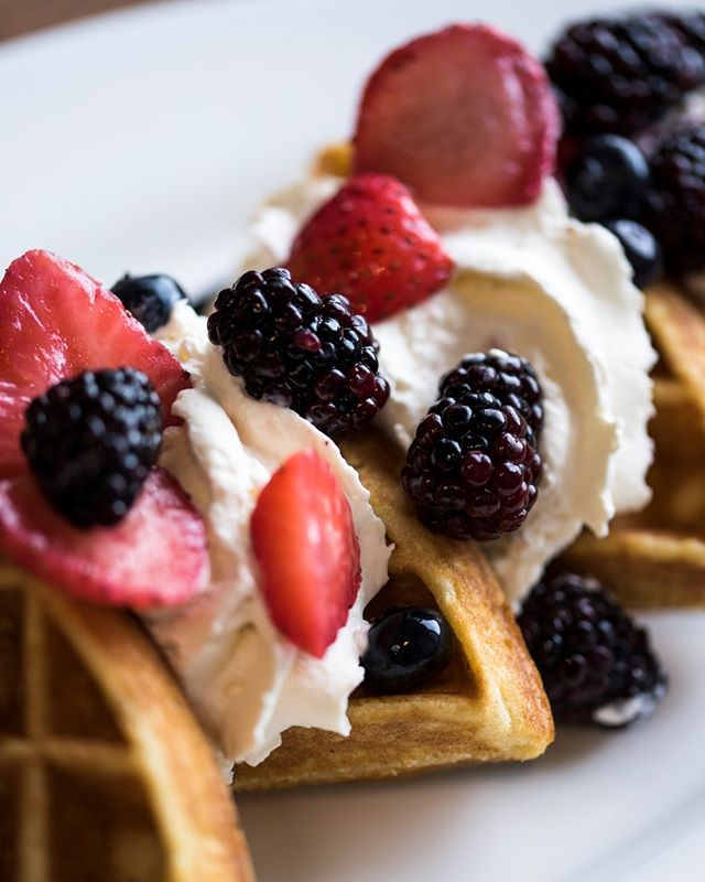 If you are looking for a tasty Tuesday treat, our waffles do just the trick! Many different waffle options to choose from‼