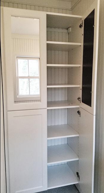 Custom Cabinet Mirrored Doors
