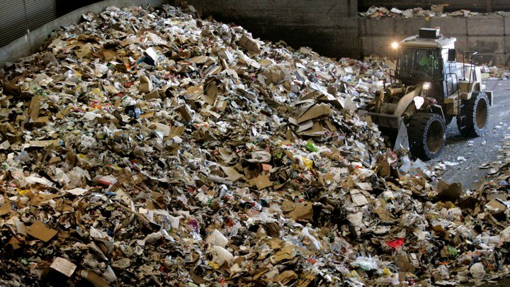 Americans are consuming more and more stuff. Now that other countries won't take our papers and plastics, they're ending up in the trash.