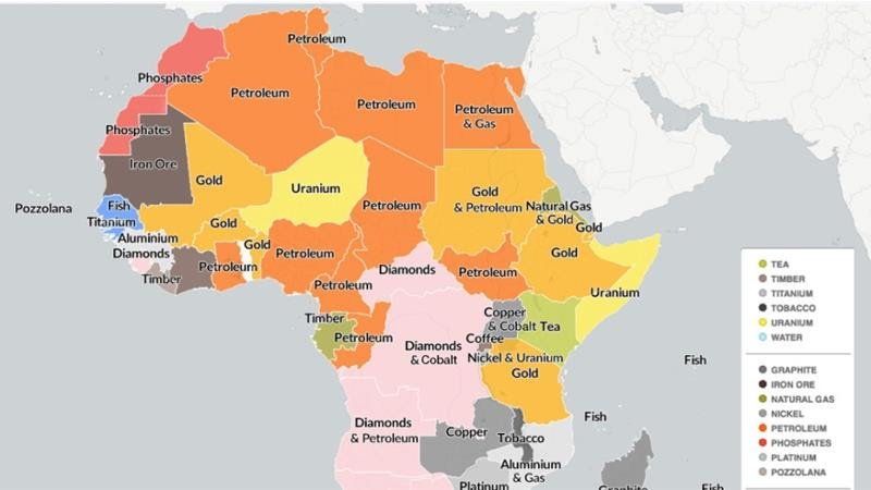 Mapping Africa's natural resources [Al Jazeera]
