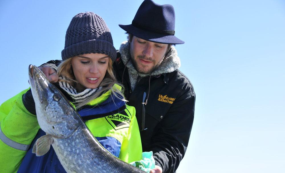 Ett fiske för alla från nybörjare till Sjölejon, alla är välkomna!