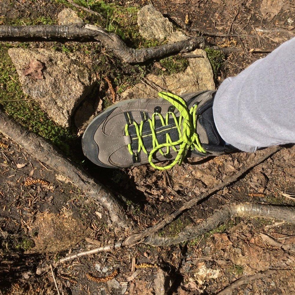 Hiking boot.