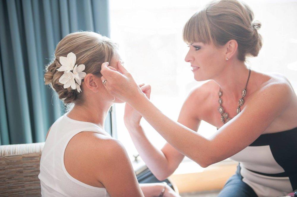 Danielle Bender, makeup artist  photo by melissa stimpson photography