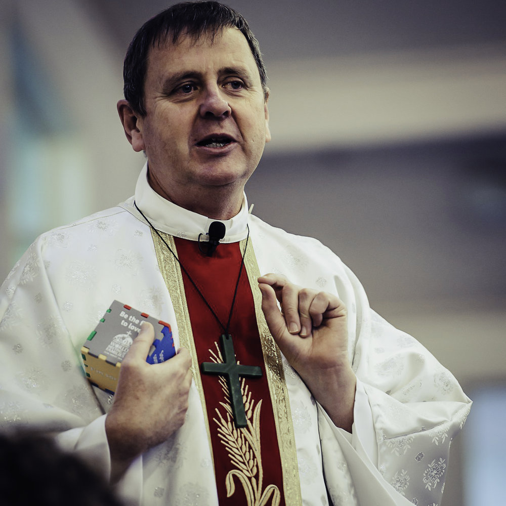 Bishop Steve Lowe - Bishop of the Hamilton Diocese. Also jumps out of planes. What more do you need to know?