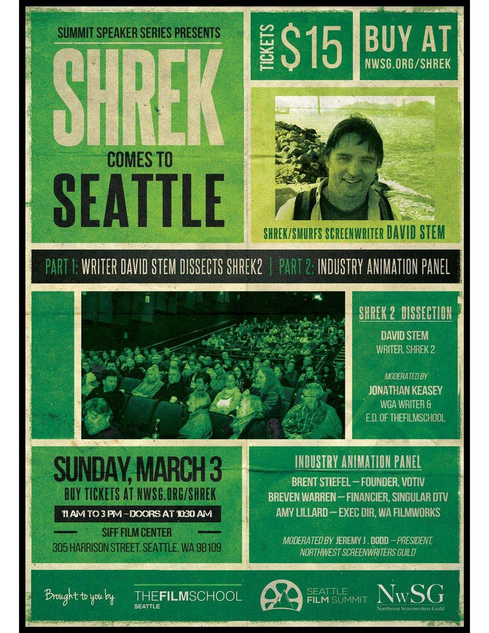 Shrek & Smurfs Screenwriter: David Stem