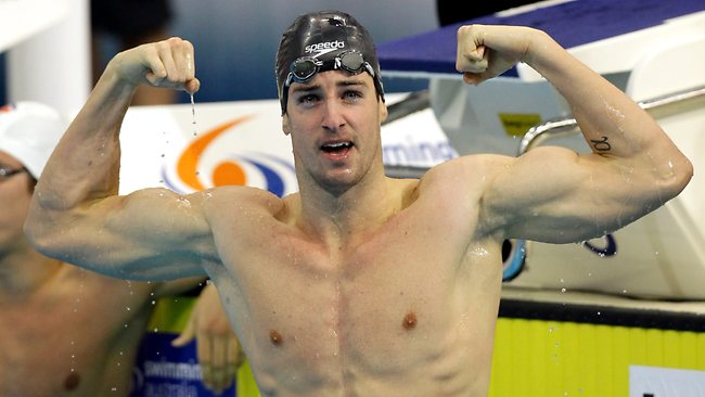 James Magnussen in Pool