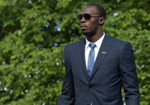 Usain Bolt in Suit