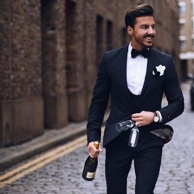 DRESSING FOR THE OCCASION - Tuxes, Suits and Trimmings for every dressed up occasion in 2019