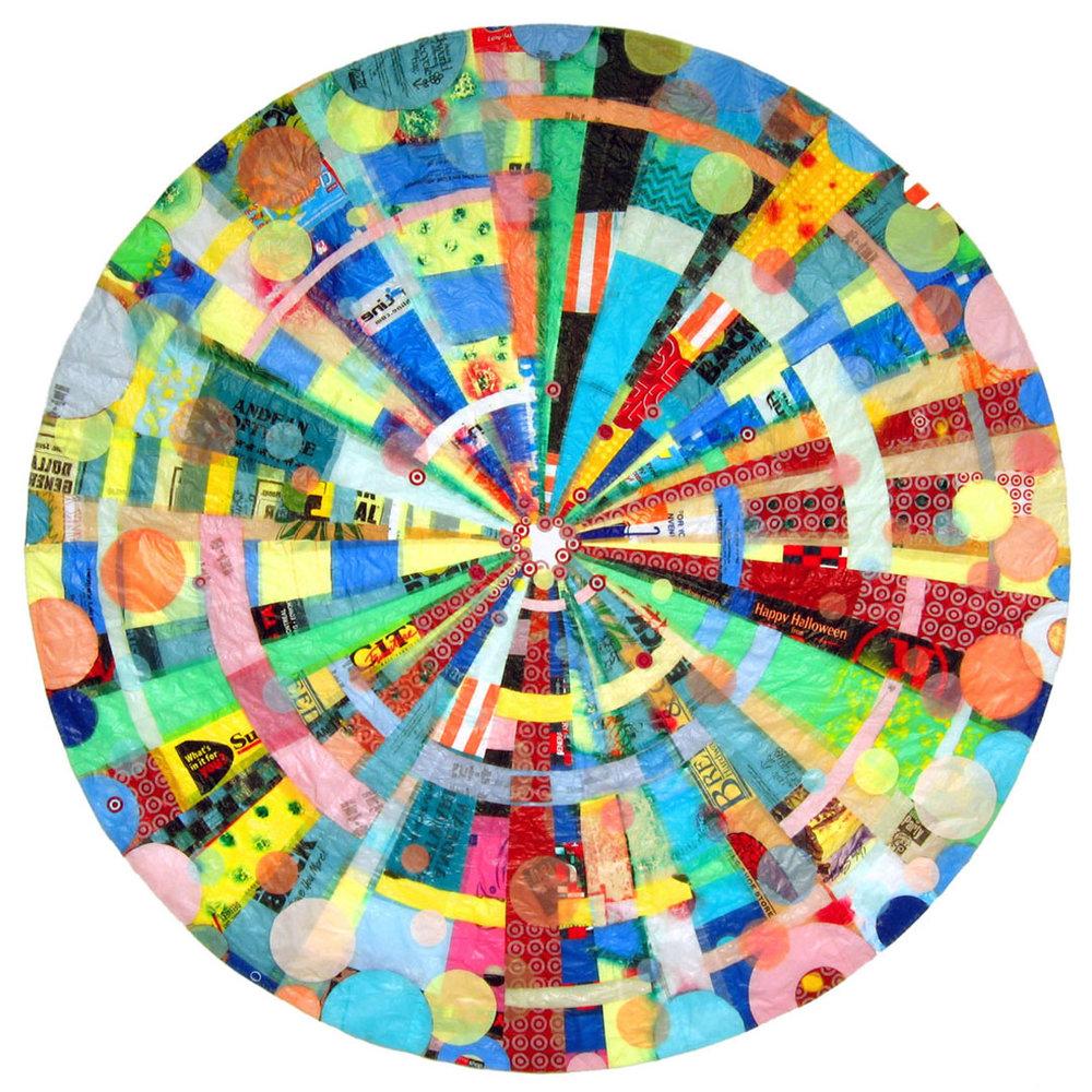 """Buymore Mandala (Large) (2004) - 105"""" dia."""