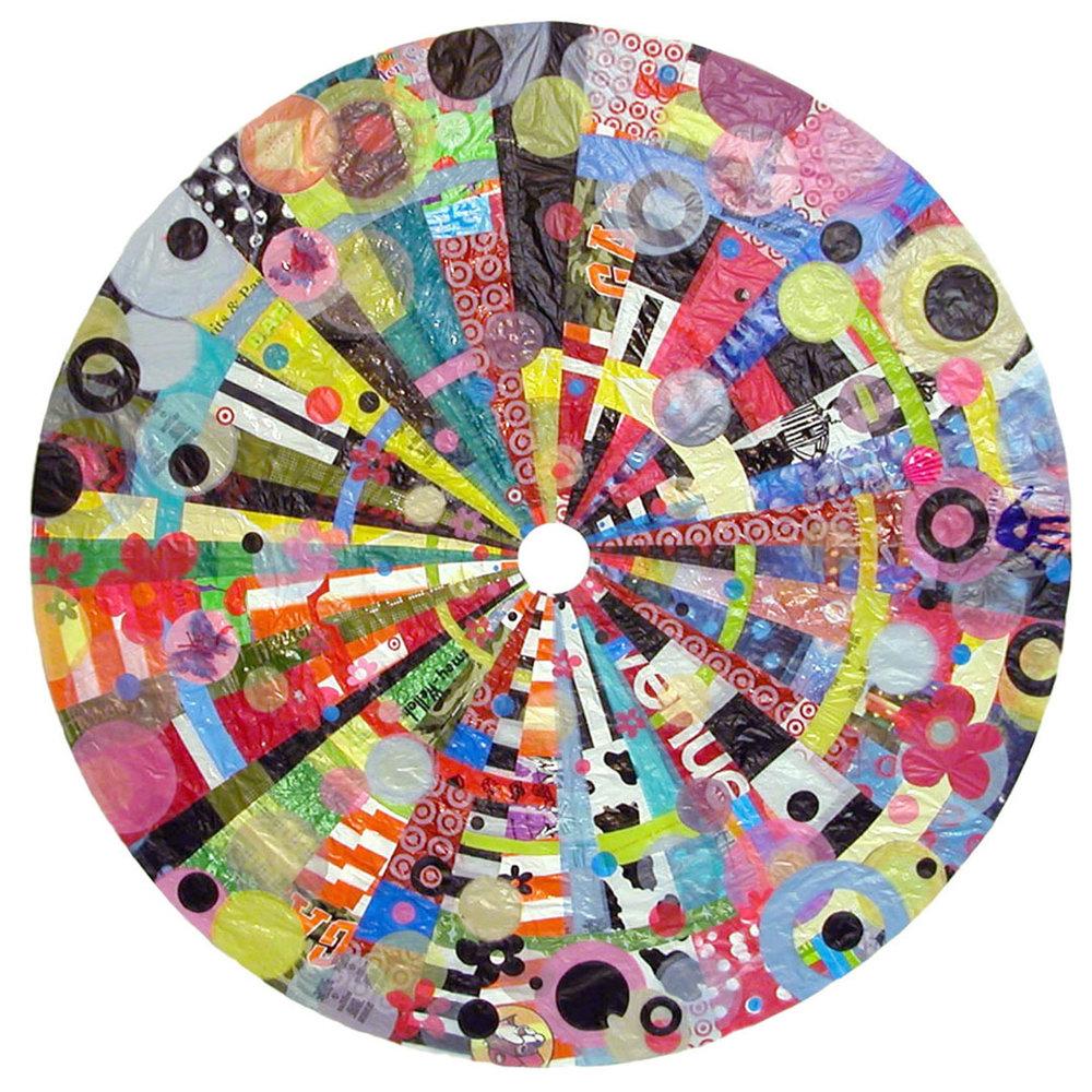 """Buymore Mandala (Small) (2006) - 56"""" dia."""