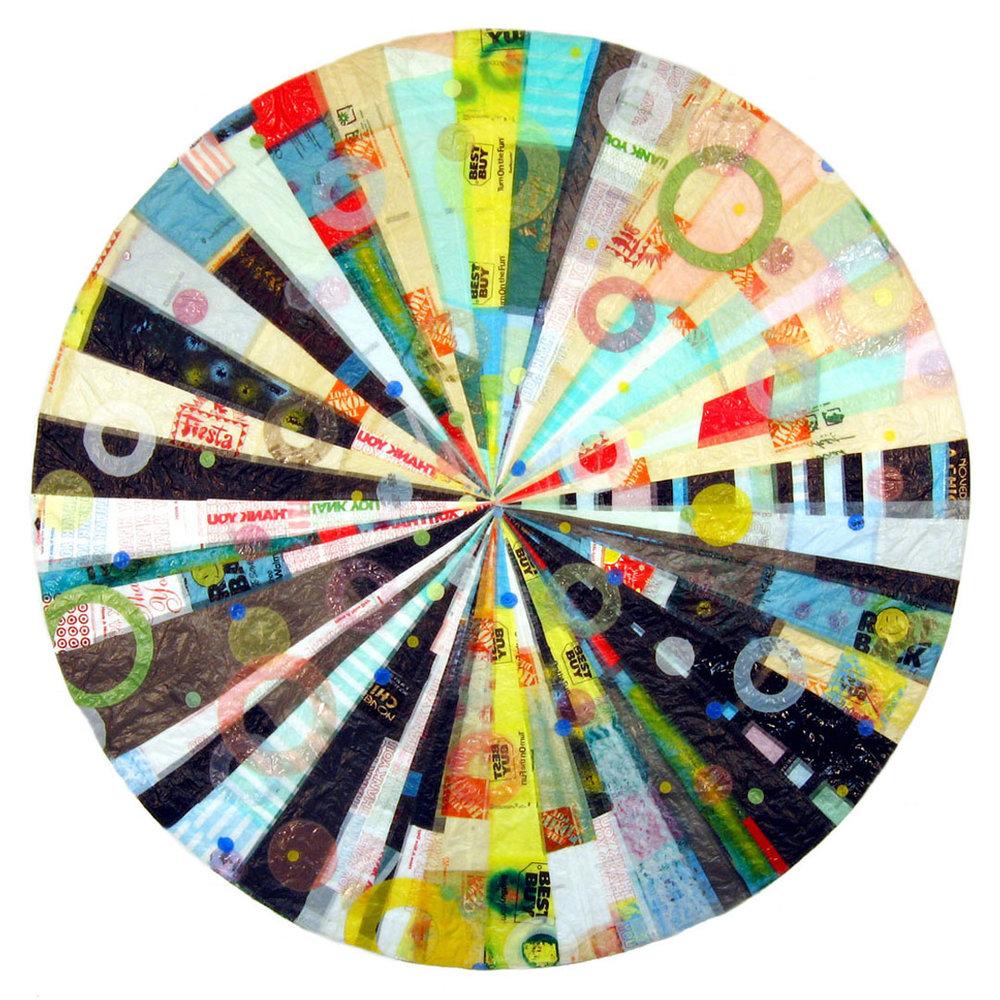 """Hub Mandala (2004) - 105"""" dia."""