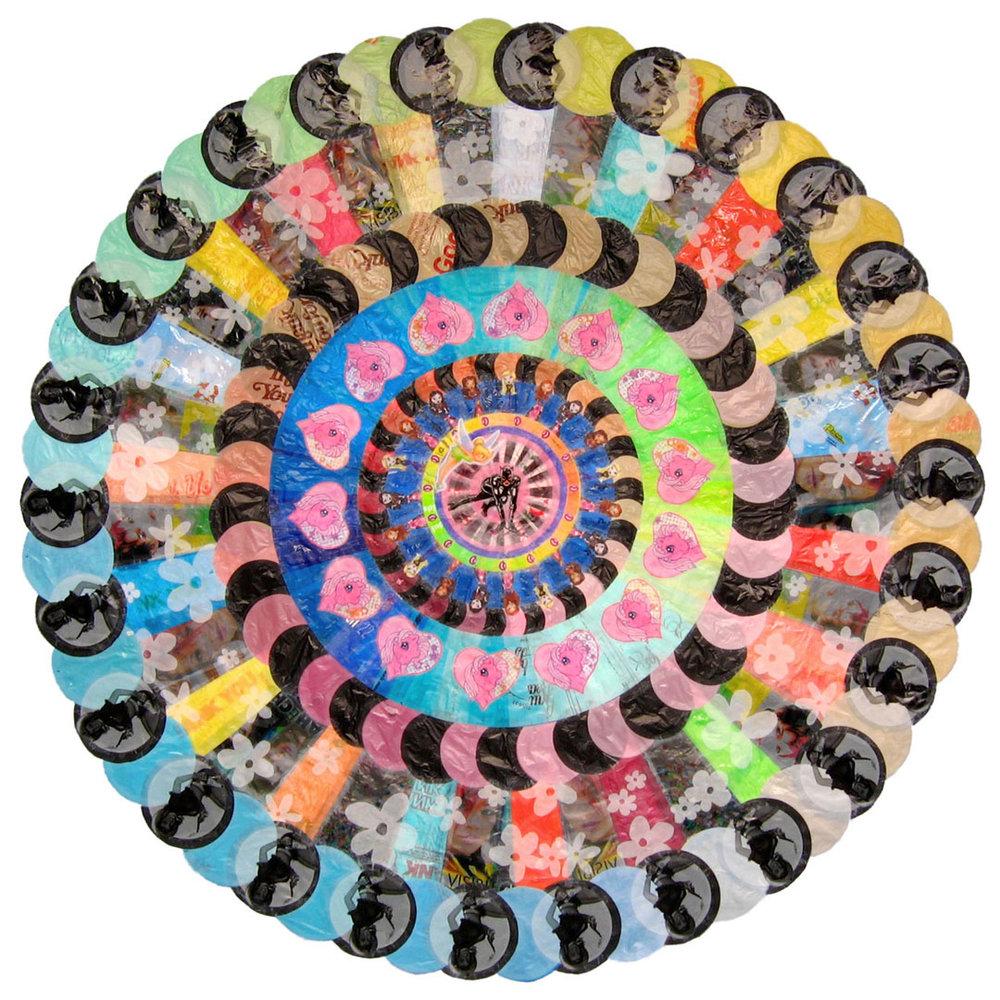 """Makeover Mandala (2006) - 78"""" dia."""