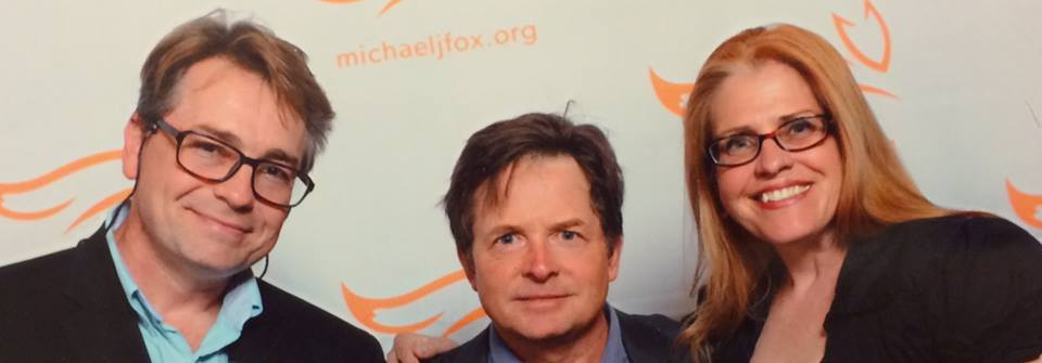 Oliver Holler, Michael J. Fox, and Terry Holler