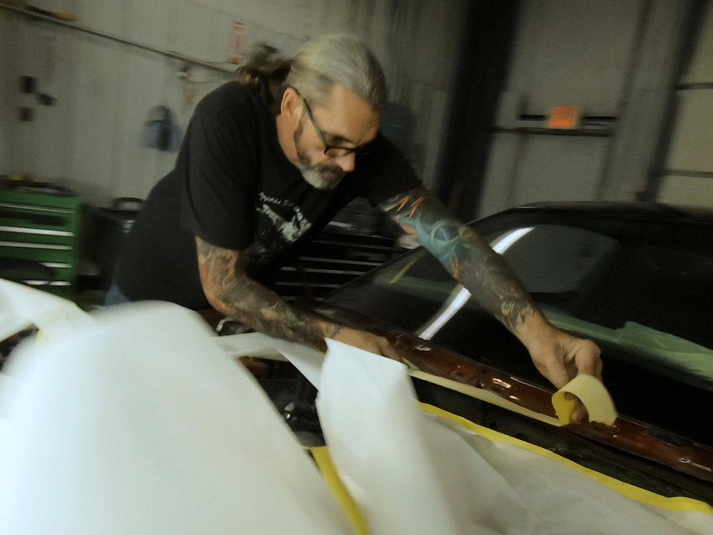 Bobby Black - Body & Fabrication
